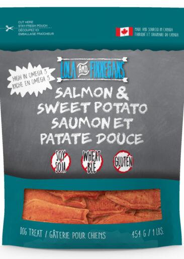 Lola & Finnegan's Gourmet Salmon And Sweet Potato