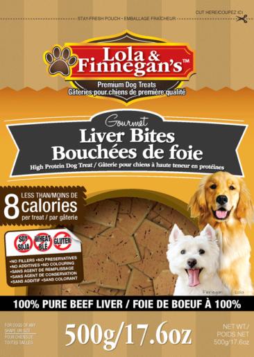 Lola & Finnegan's Gourmet Liver Bites